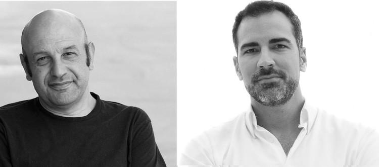 Carlos Quintans e Iñaqui Carnicero. Image Cortesía de Pabellón de España 2016
