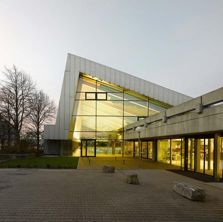 Centro deportivo en Leonberg / 4a Architekten, © David Matthiessen