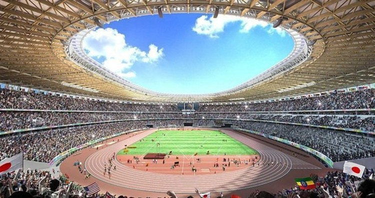 Design A. Imagen © Consejo Deportivo de Japón vía Curbed