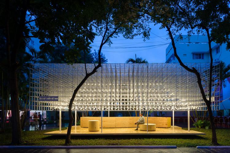 Pabellón de alimentos Vietnamita / MIA Design Studio, © Quang Dam