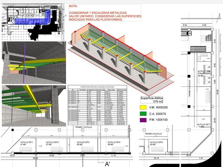 Mall Egaña. Evaluación de estructura metálica.