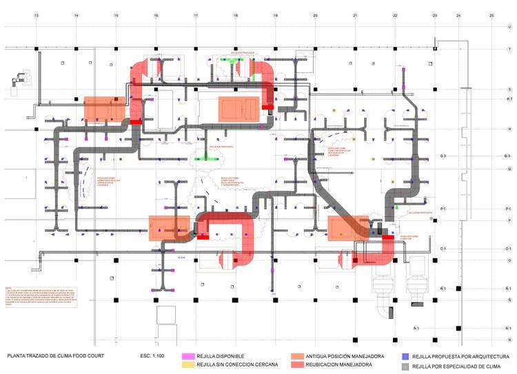 Mall Egaña. Detección de fallas y solución del sistema de aire acondicionado.