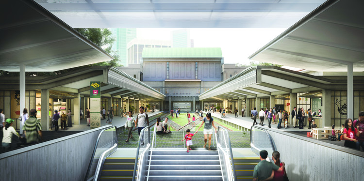 3 Architects Win President's Designer of the Year Award in Singapore, MKPL Architects Recent Winning Proposal for the Singapore Rail Corridor Revitalization. Image Courtesy of Norm Li for MKPL Architects