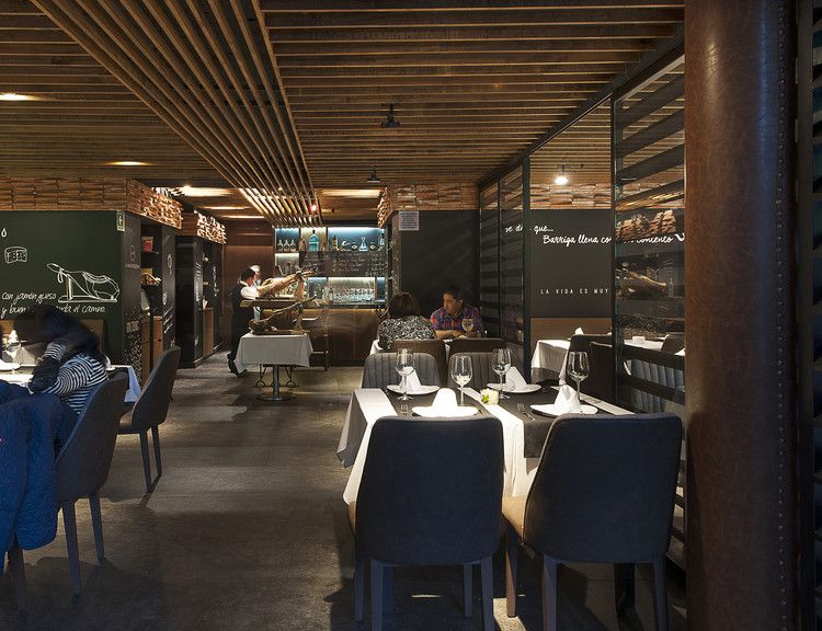 Restaurante la mallorquina faci leboreiro arquitectura for Restaurante arquitectura