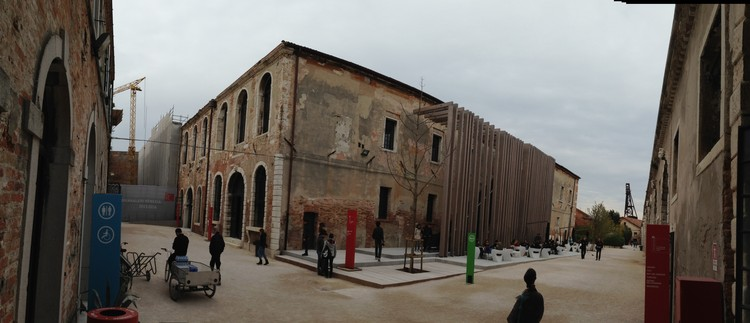 The Turkish Pavilion was revealed for the first time in 2014 (located in the Arsenale). Image Cortesía de ÍKSV