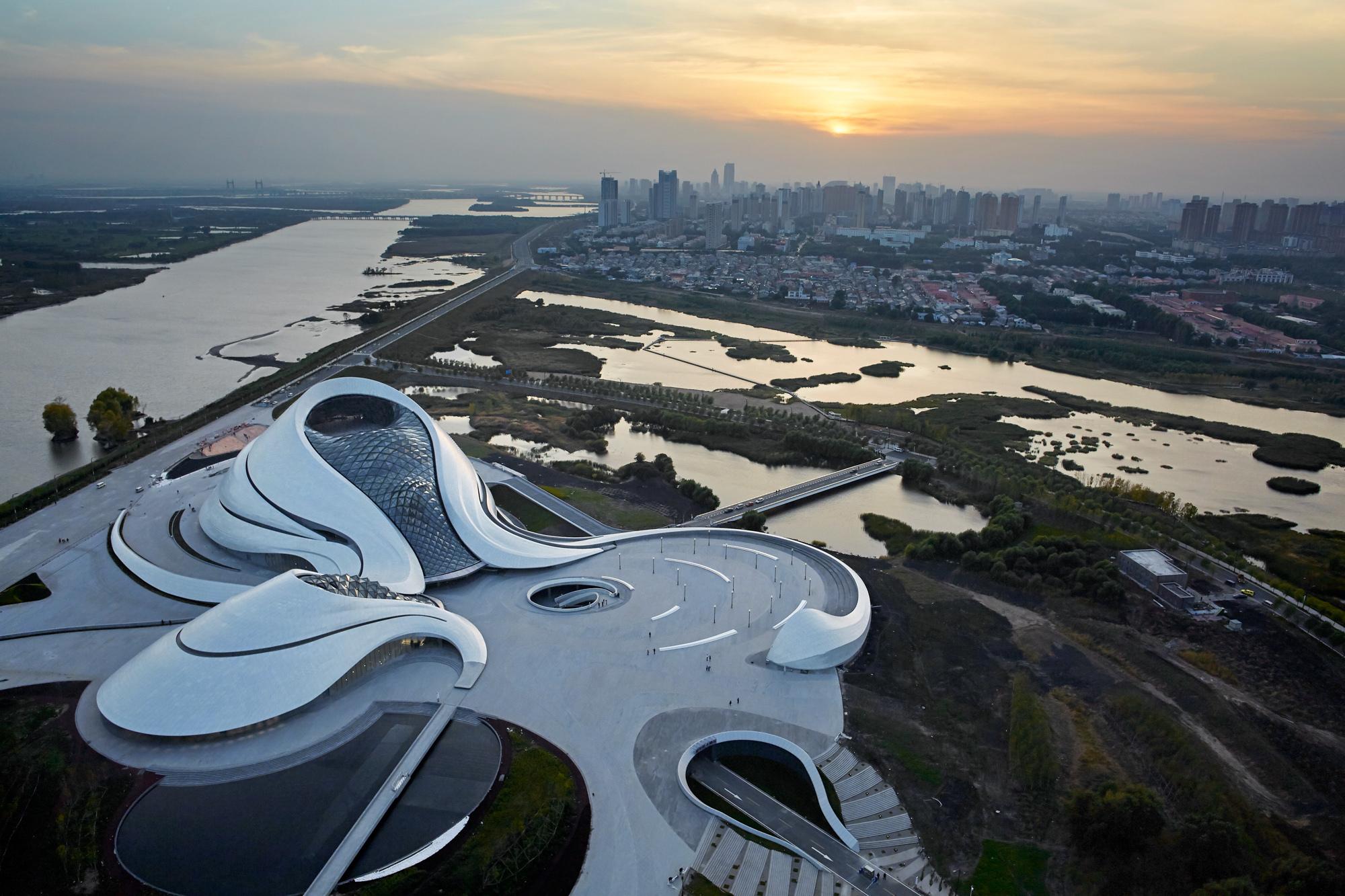 Harbin opera house mad architects archdaily