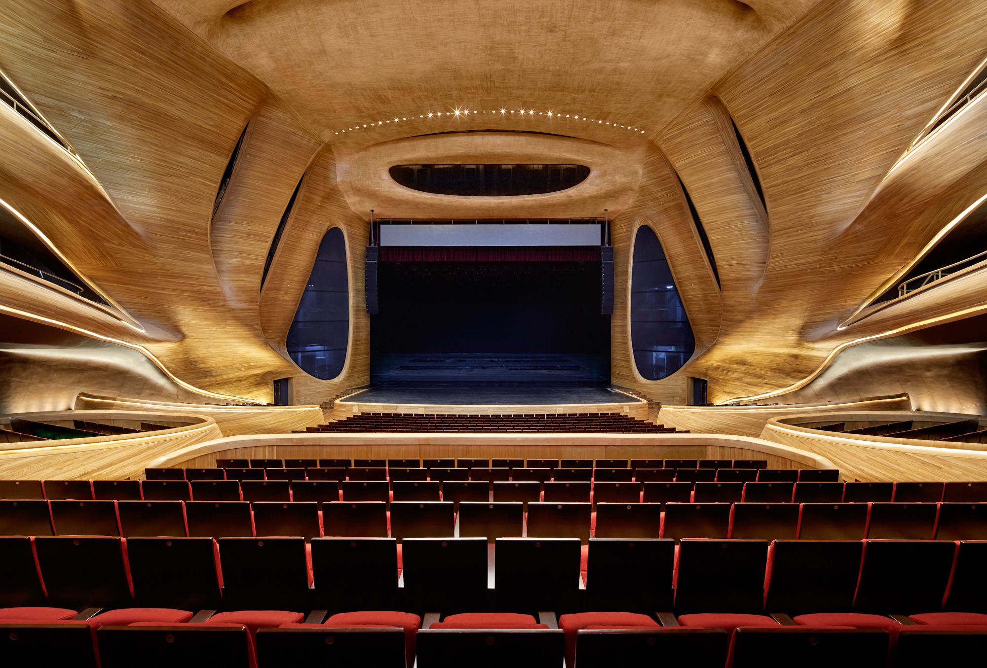 Gallery of harbin opera house mad architects 8 for Beijing opera house architect