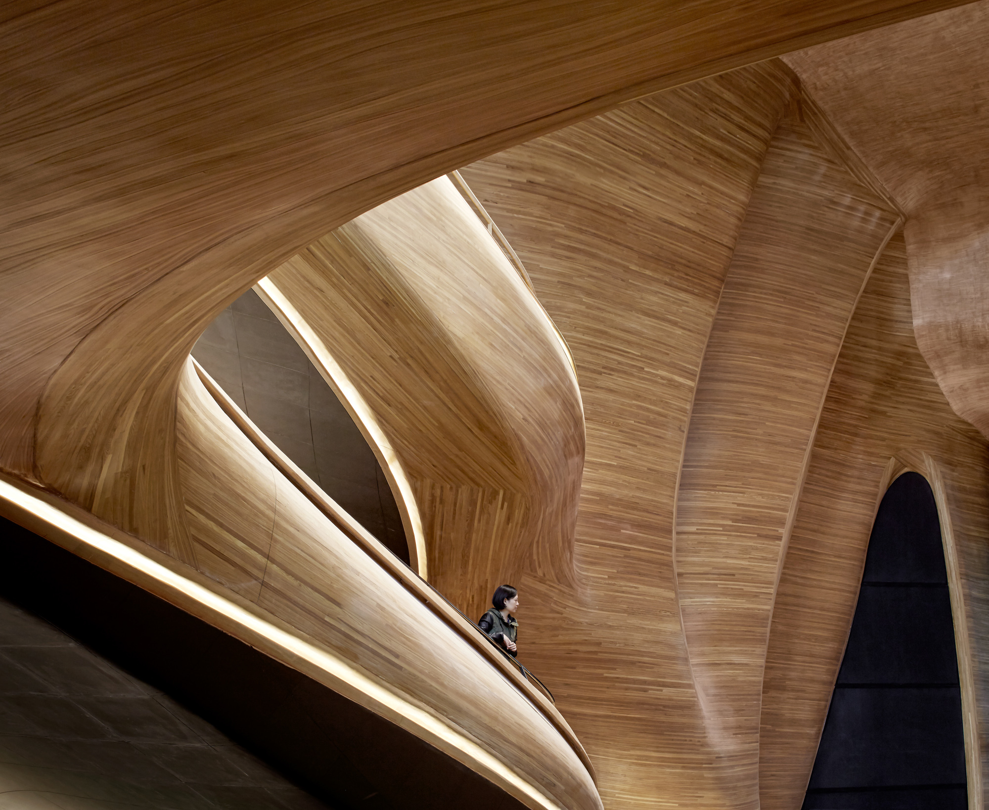Gallery of harbin opera house mad architects 20 for Beijing opera house architect
