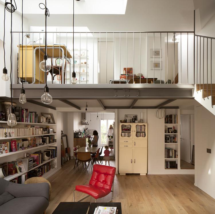 Duplex in Saint-Mande / CAIROS Architecture et Paysage, © Clément Guillaume