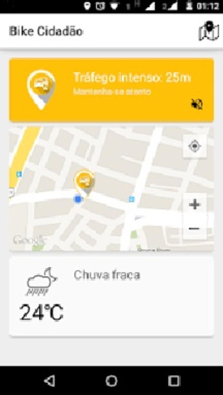 Bike Cidadão App. Image © Android Store