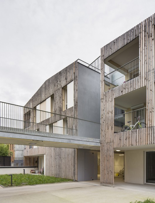 Co-Vivienda Nanterre / MaO architectes + Tectône, © Arnaud Schelstraete