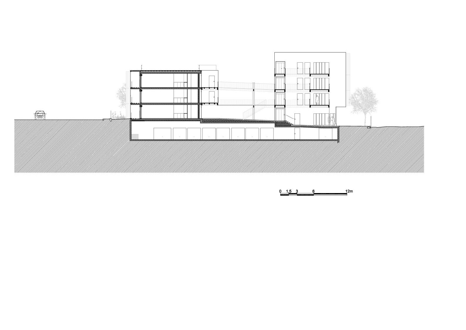 galer a de vivienda social tiendas en mouans sartoux comte et vollenweider architectes 45. Black Bedroom Furniture Sets. Home Design Ideas