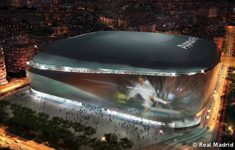 Proyecto ganador de la remodelación del estadio Santiago Bernabéu. Image