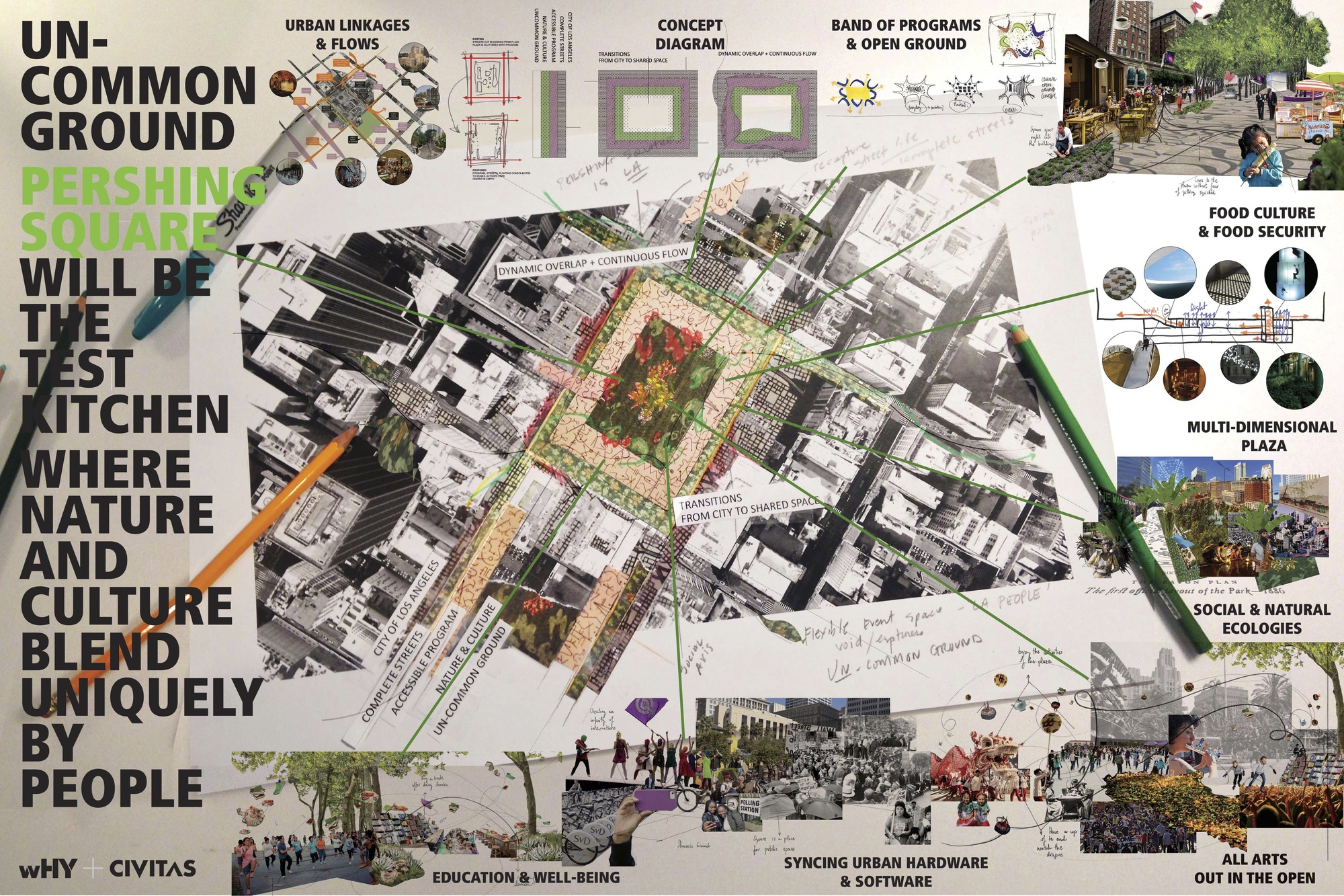 Gallery of 4 shortlisted to revitalize los angeles oldest for Architectural concept board examples