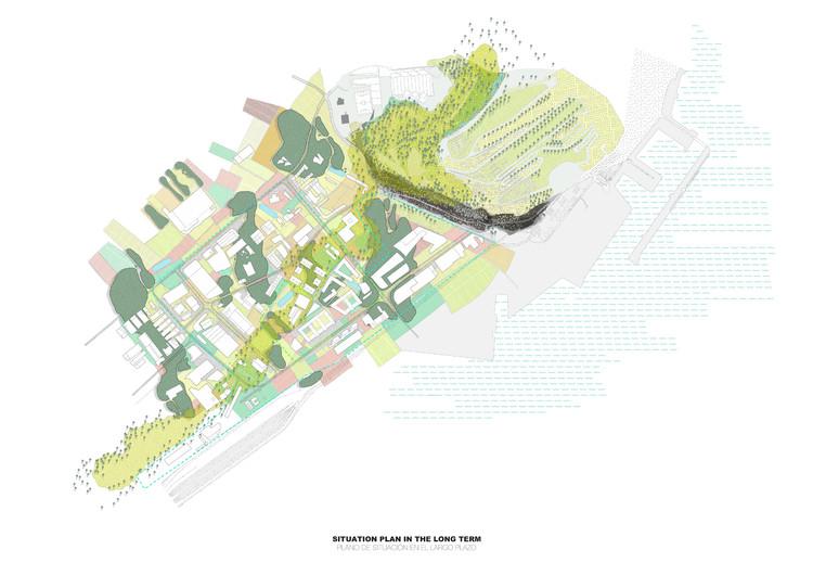 Planta de contexto a largo plazo. Image Cortesía de Langarita-Navarro Arquitectos