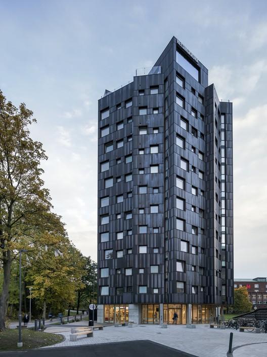 Vivienda para Estudiantes Helsingkrona Nación  / FOJAB arkitekter, © Felix Gerlach