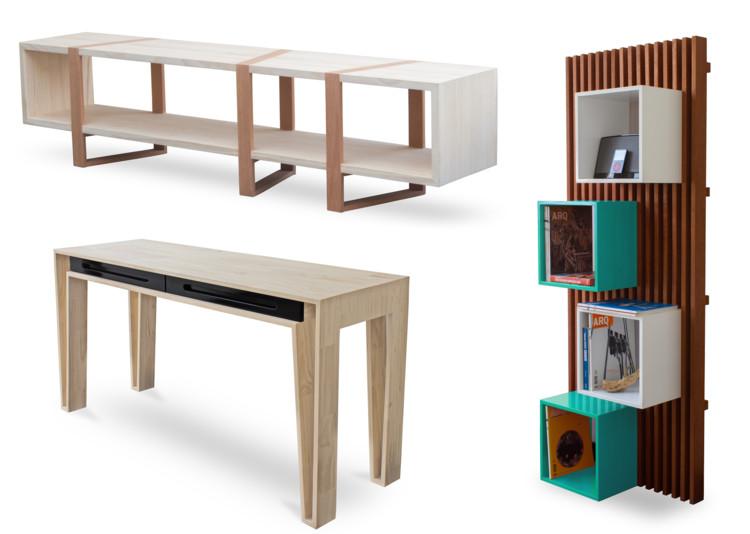 L nea de mobiliario 1a10 design archdaily m xico - Mobiliario de un bar ...