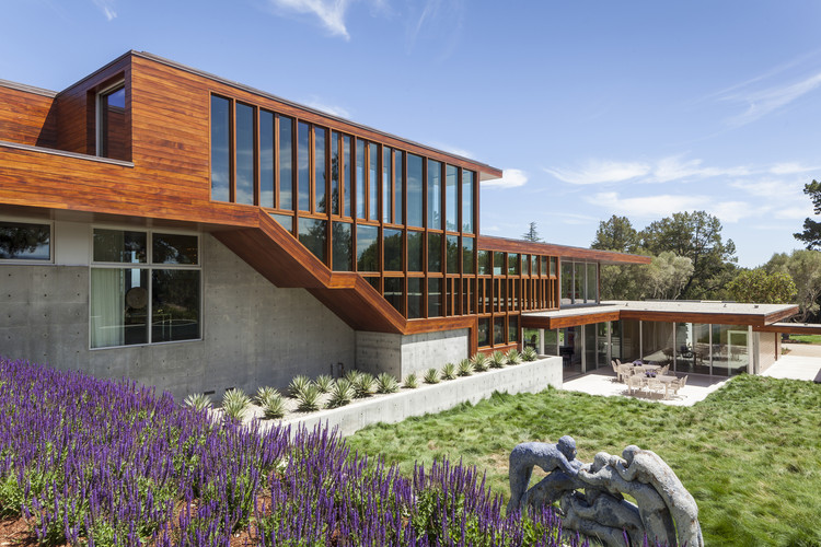 Residencia Vidalakis / Swatt | Miers Architects, © Russell Abraham
