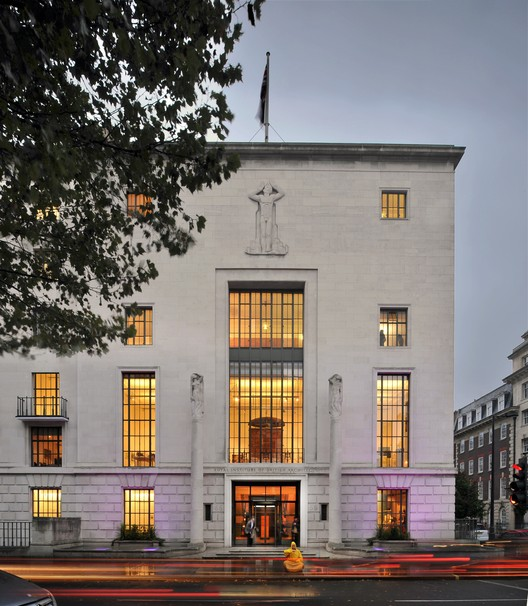 RIBA Headquarters. Image © Philip Vile