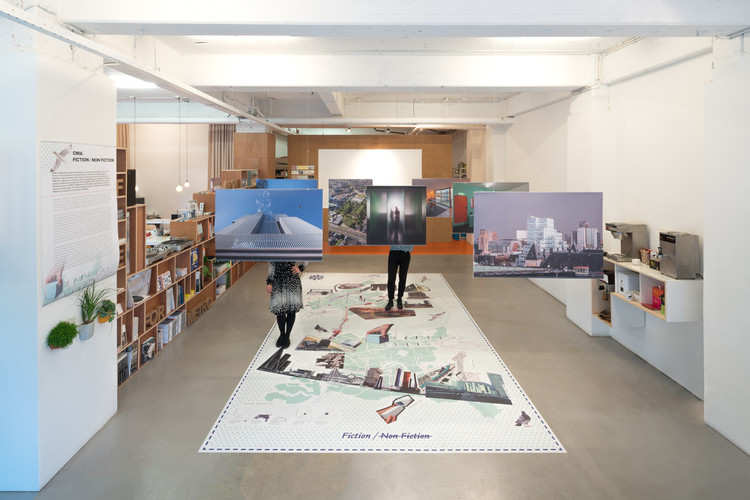 OMA Fiction - Non Fiction: Exhibition, Map & More