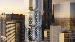 "Zaha Hadid's First Tower in Melbourne Described as a Series of ""Stacked Vases"""