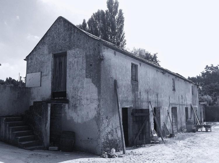 Antiguo Edificio. Imagen © Manuel Damião Santos Arquitectura