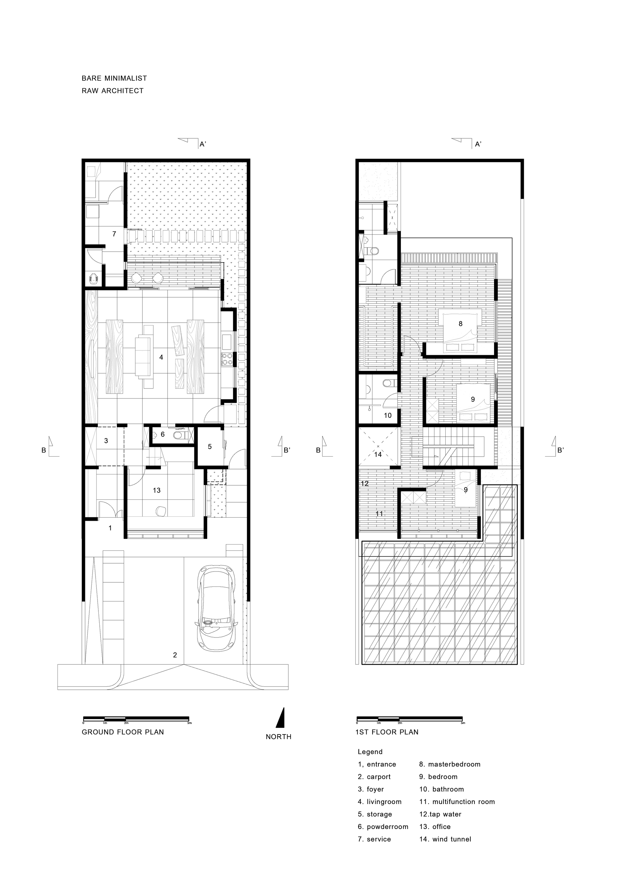 Gallery of house in jakarta raw architecture 26 for Raw house plan design
