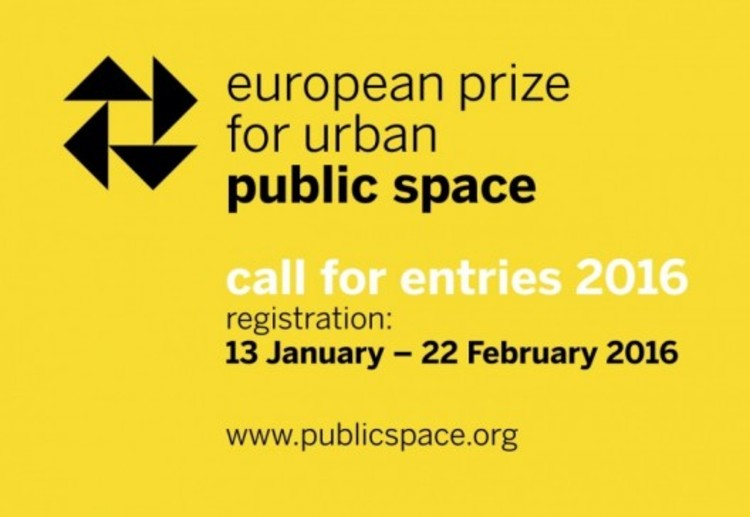 call for entries european prize for urban public space courtesy of the center of