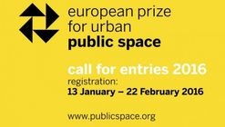 Call for Entries: European Prize for Urban Public Space