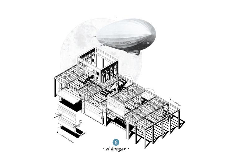 El Hangar. Image Cortesía de Pedro Pitarch Alonso