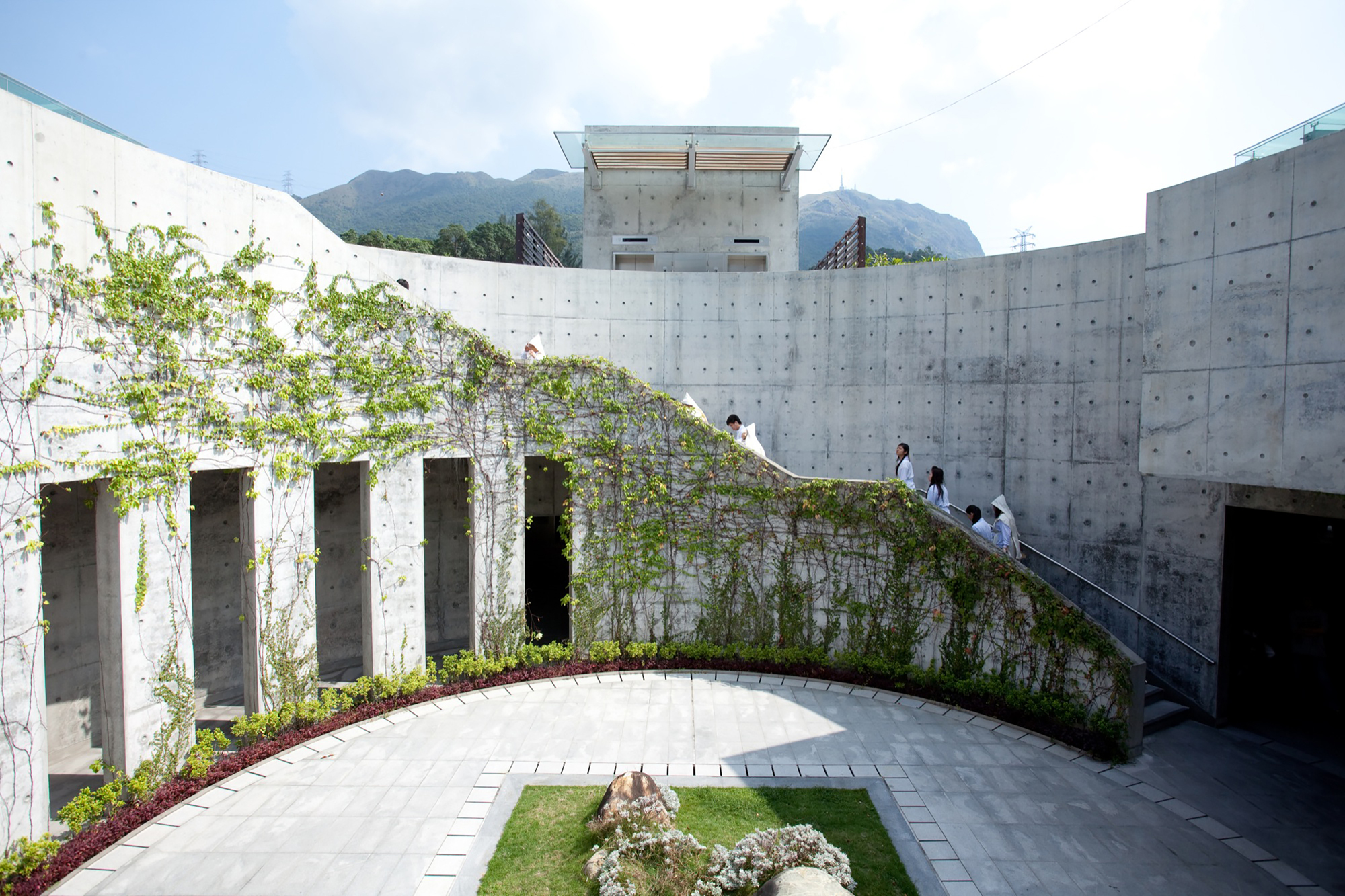 Diamond hill crematorium architectural services for Ads architectural design services