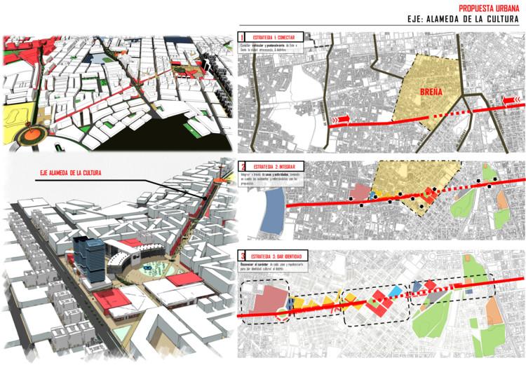 Propuesta Urbana. Image Cortesía de Aurora Chuquilín Gonzales