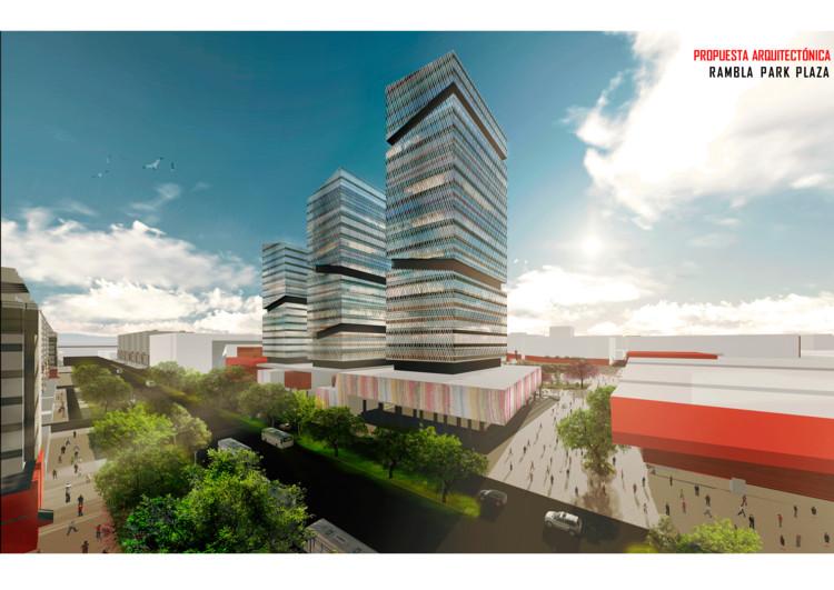 Propuesta Arquitectónica. Image Cortesía de Aurora Chuquilín Gonzales