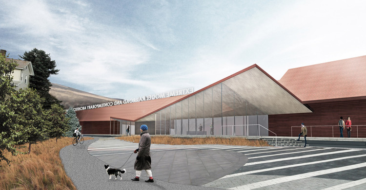 Gluckman Tang to Design Two New Art Museums in Massachusetts, Extreme Model Railroad Museum. Image © Gluckman Tang Architects
