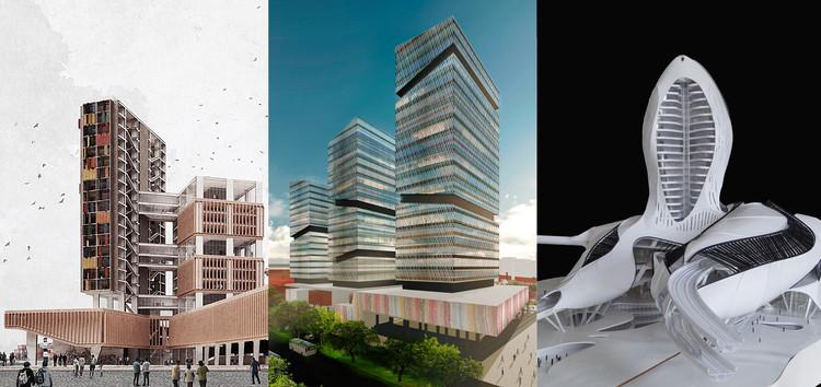Panorama de la enseñanza de arquitectura en el Perú (Parte I), Collage por Fabio Rodríguez