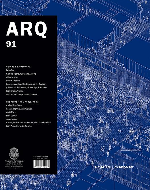 Revista ARQ 91: Común