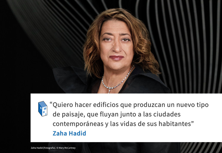 Frases: Zaha Hadid y el paisaje