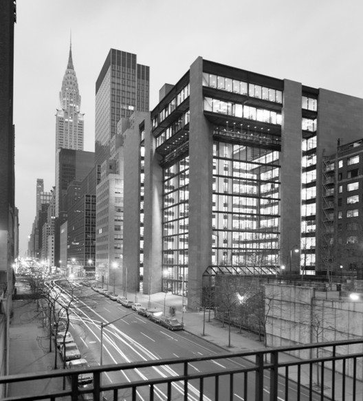 The Ford Foundation / Kevin Roche John Dinkeloo and Associates. Image © Ezra Stoller/Esto