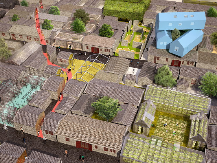 MVRDV Reimagines the Chinese Hutong, © MVRDV