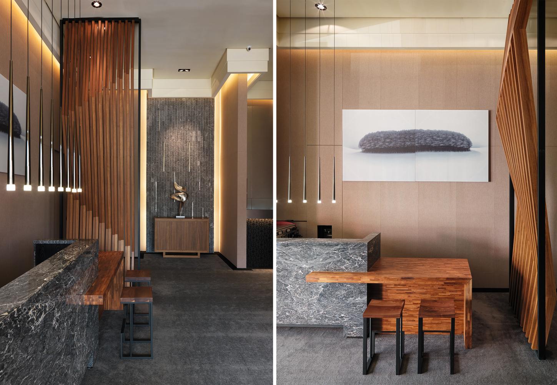 Gradation In Interior Design gallery of rhetoric of space / cai-in interior design - 4