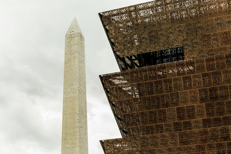 The Smithsonian National Museum of African American History and Culture. Image © Nathan Perkel for Surface Magazine