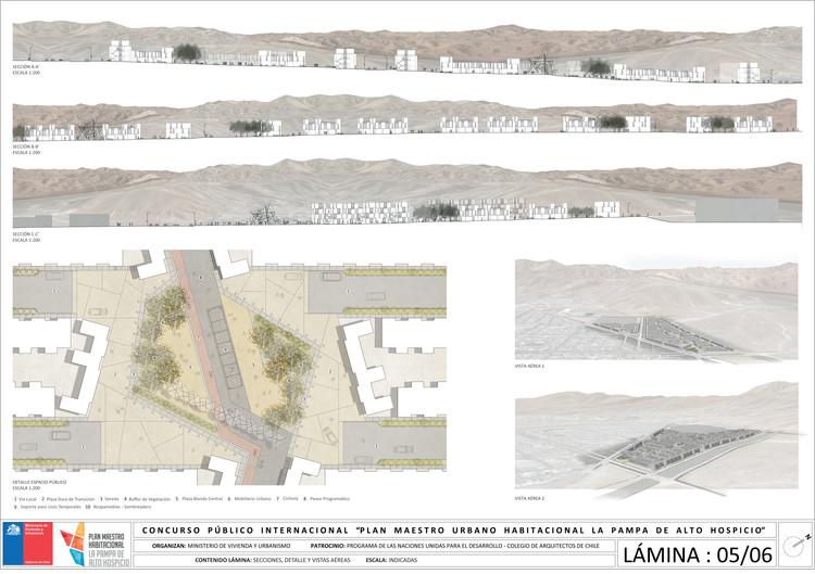 Lámina #05. Image Cortesía de llll Arquitectura Diseño Urbano