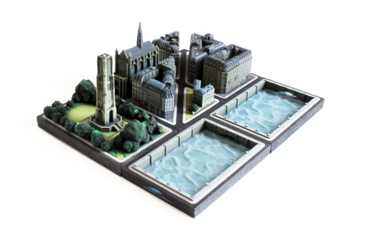 Ittyblox Unveils Collection of Miniature 3D-Printed Parisian Buildings, Courtesy of Ittyblox