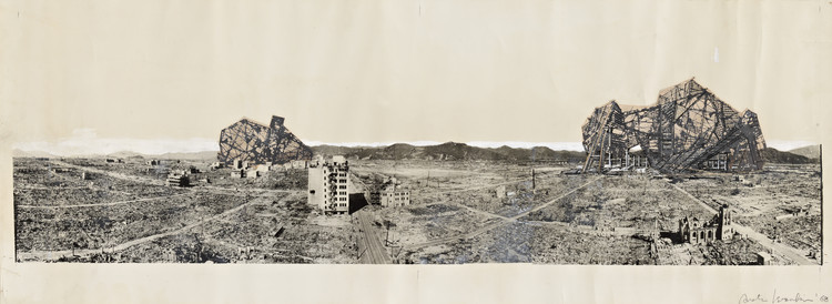 Forthcoming Exhibition to Examine 'Creation From Catastrophe', Photomural: 'Reruined Hiroshima' by Arata Isozaki. Image © MOMA