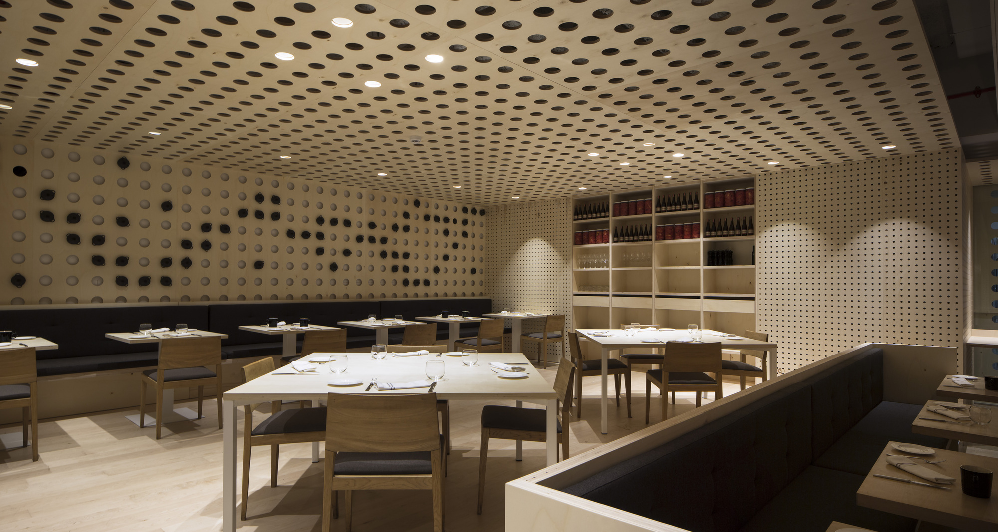 habitual restaurant rife design archdaily