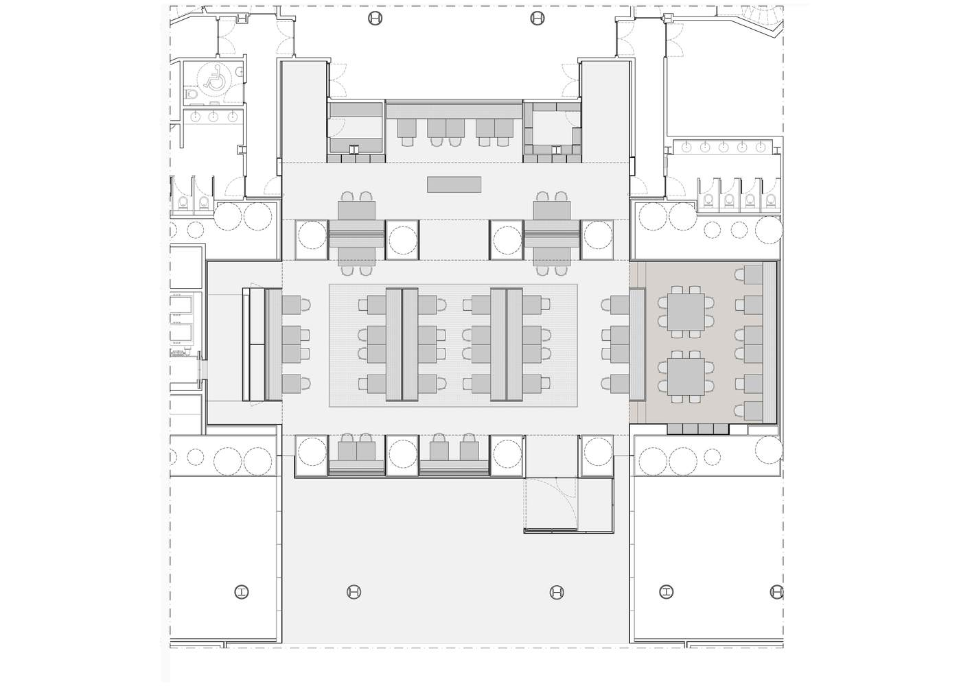 gallery of habitual restaurant rife design 11 habitual restaurant floor plan