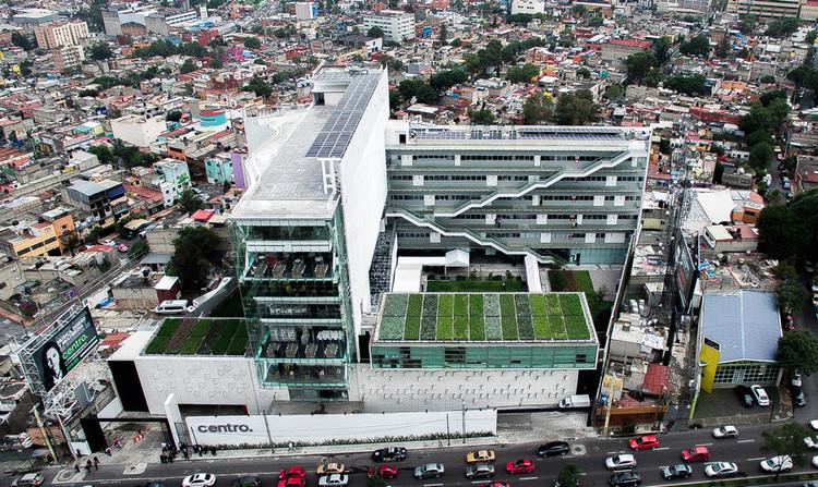 CENTRO University, Mexico City. Image © Luis Gordoa
