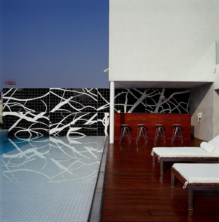 Habita Hotel, Mexico City. Image © Luis Gordoa