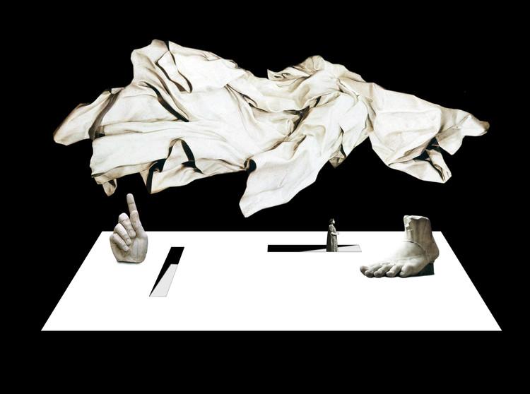 Campo Baeza en primera persona: diseño de escenografía para el teatro griego de Siracusa, Cortesía de Alberto Campo Baeza