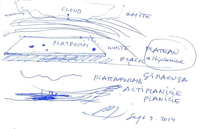Croquis 05 / Septiembre 2014. Image Cortesía de Alberto Campo Baeza